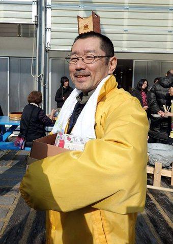 神田裕神父。 攝影/阿潑