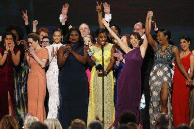 新劇「鐵窗紅顏」在演員工會獎上大勝。 圖片由演員工會獎提供