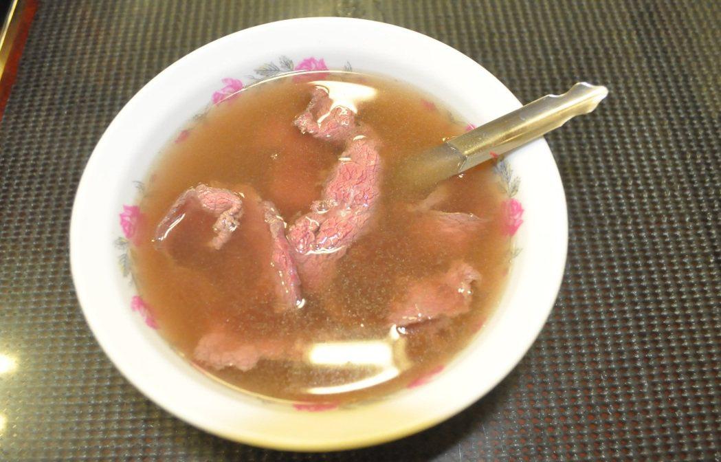 牛肉湯 圖片來源/聯合報系