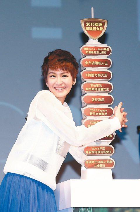 將默默耕耘7年的戲劇人氣灌注在歌唱事業上,曾沛慈昨在台北Legacy開唱,以「這裡還有我」溫暖祝福台灣,但私下則是為了開唱緊張發抖。