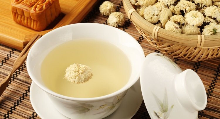 菊花茶。 圖片來源/123RF