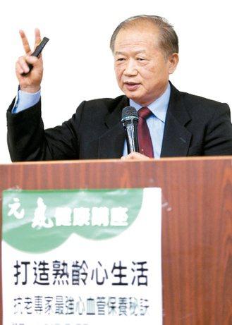 台灣抗老化保健協會理事長謝明哲 記者侯永全/攝影