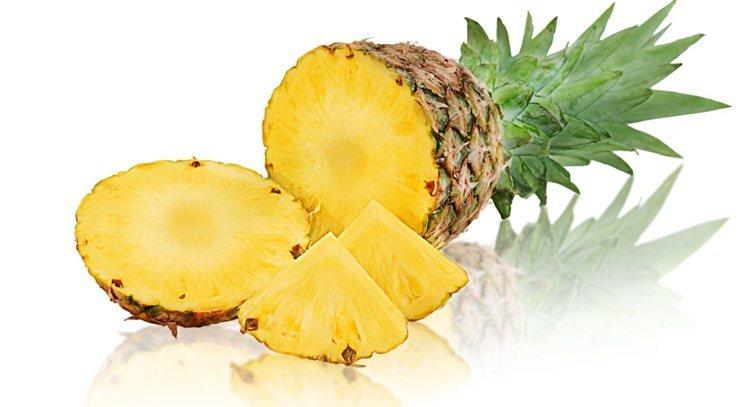 鳳梨營養價值高,也能幫助消化。 圖片來源/123RF