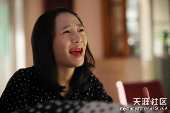 把染髮膏擠到牙刷上的悲劇...電影《失戀33天》 圖片來源/ zhidao