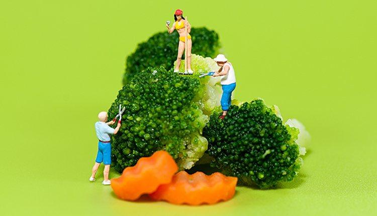 長期只吃蔬果雖然有減重效果,但還是無法避免營養不均衡的缺點。 圖/ingimag...