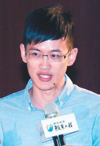 台大醫學系學生朱一心。 記者 楊光昇/攝影