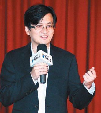 優必達科技公司總經理郭榮昌。 記者陳柏亨/攝影