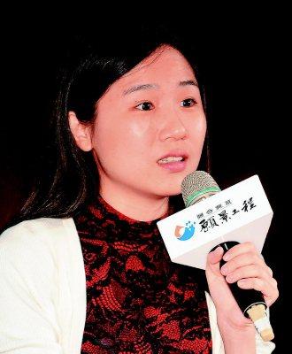 做夢是需要練習的李佩蓉(景美女中教師) 記者盧振昇╱攝影