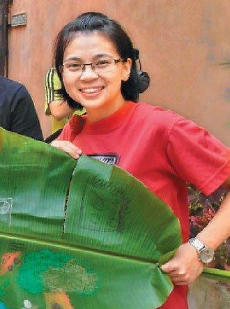 來自印尼的新住民王麗蘭,每年暑假帶團至馬來西亞擔任志工。 圖╱王麗蘭提供