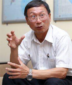 越南精密董事長李育奇。 記者程宜華/攝影