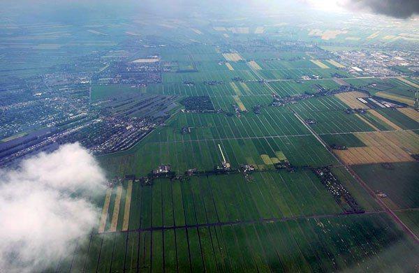 「綠心」只有農田、畜牧場和森林。記者陳正興/攝影 記者陳正興/攝影