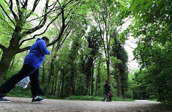 城市規畫原則是市中心居民騎單車15分鐘內可到市郊綠地。 記者陳正興/攝影