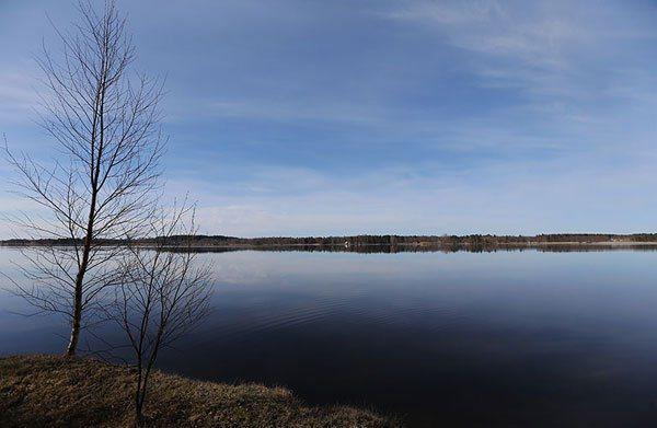 芬蘭擁有18萬7888個湖泊,約占全國面積十分之一。 記者蘇健忠/攝影