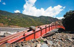 變形的河 吞橋毀路成「洪水猛獸」