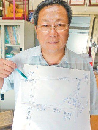 田中里長張文慶認為,與其延伸176公車到竹坑口,不如增加176班次,嘉惠鄉親。 ...