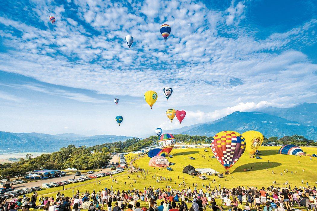 台東熱氣球嘉年華。