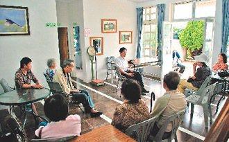 雲林縣古坑鄉華南社區醫療中心,看診人數居偏鄉之冠。 圖/華南國小提供