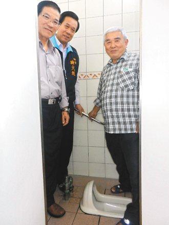 和美鎮公所支持聯合報「願景在地-方便老人」專題,將在鎮內20間公廁裝安全扶手。 ...