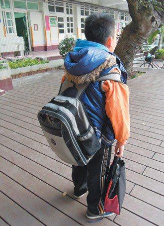 「大包、小包上學去!」學童書包減重政策推動多年,孩子上學的書包是否真不再沉重? ...