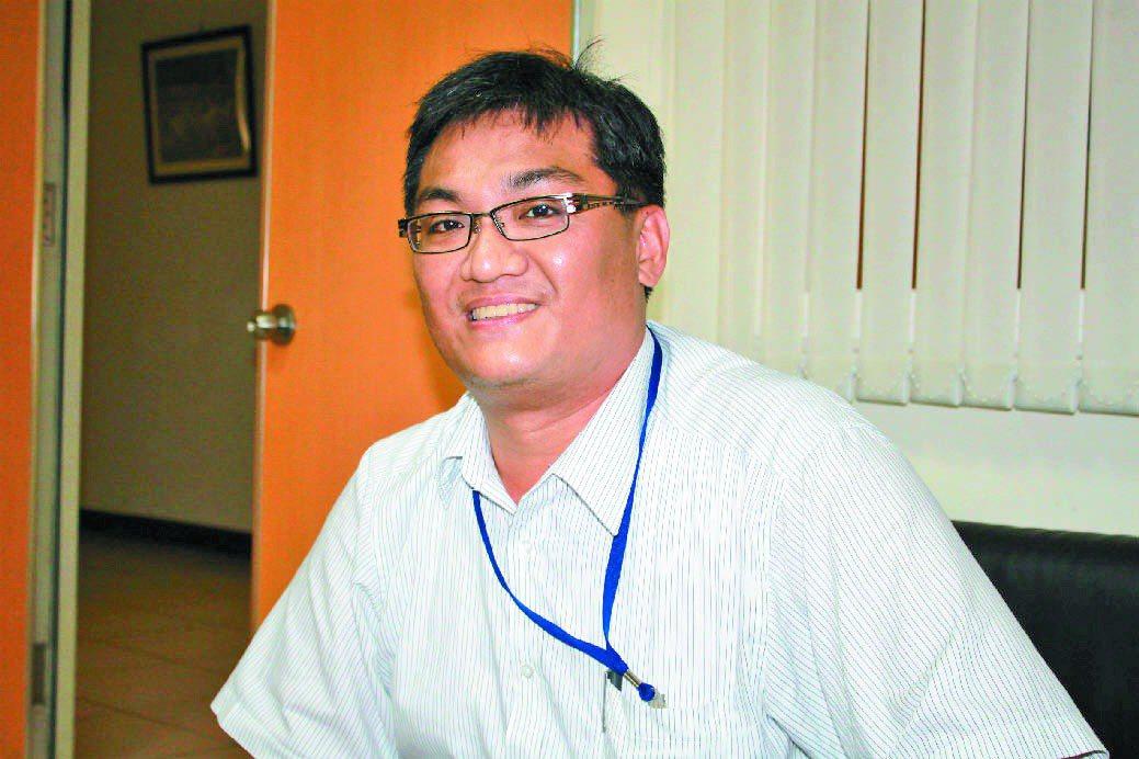 桃園警分局警員羅永昌。 記者楊德宜攝影