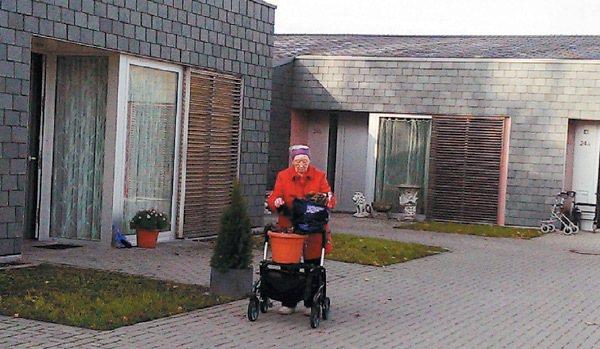 德國老人即使住進安養院,也盡量維持自己 獨立生活。 記者沈珮君/攝影