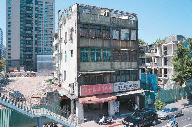 台北市永春社區都更案。 圖/經濟日報提供