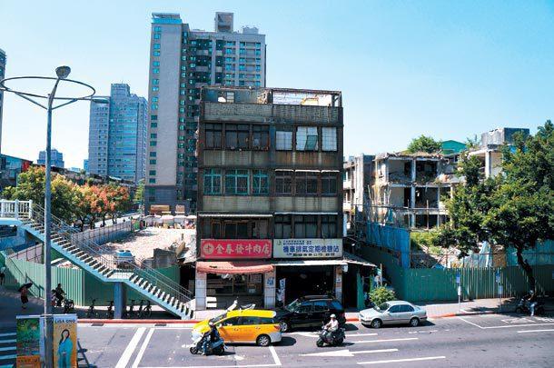台北市永春社區都更案。 (聯合報系資料庫)