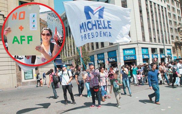 年金問題是今年智利大選熱門話題,有候選人說要修改提撥率,也有人政見是取消讓民營公...