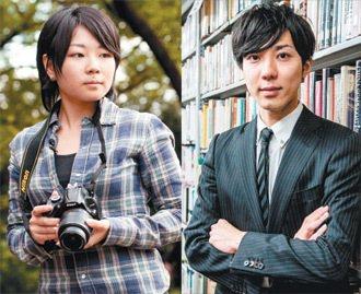 24歲堀井聰子(左)、31歲福博充對未來充滿了疑問;我們現在繳年金,但等老了,會...