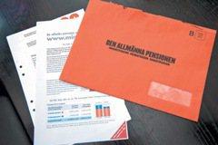 瑞典/一個橘色信封 保證基本年金