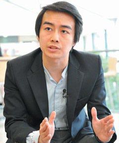 林柏儒(攻讀ESSEC碩士)。 特派記者林澔一/巴黎攝影