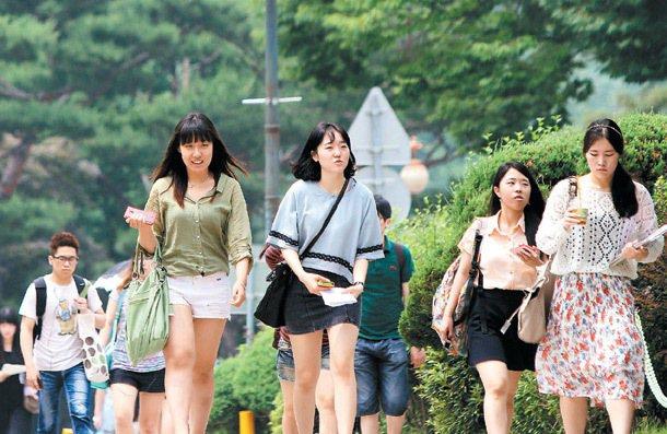 學校全力支援,讓韓國大學生有絕佳的念書環境。 特派記者侯永全/首爾攝影