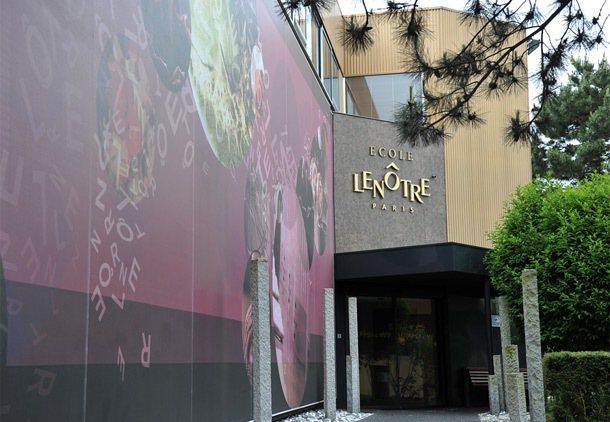 雷諾特餐飲職業學校外觀。 特派記者林澔一/巴黎攝