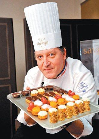 雷諾特行政主廚菲利浦哥伯特是知名的MOF。 特派記者林澔一/巴黎攝影