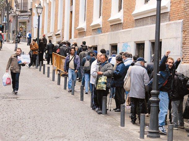 西班牙青年失業率之高,舉世震驚。 特派記者鄭超文/攝影