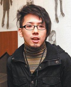 設計科學生中川勇樹。 特派記者鄭超文/德國攝影