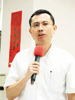 台北市勞動局局長陳業鑫。 記者王彩鸝/攝影