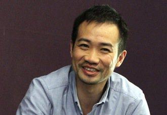 「O School」舞蹈學院執行長劉慶權。 特派記者曾吉松/攝影