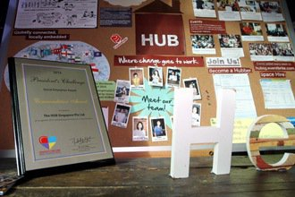 The HUB Singapore平常就有各式討論或是邀請專家來講課,這裡曾獲總...