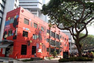 The HUB Singapore匯聚新加坡年輕人社企點子的地方。 特派記者曾吉...