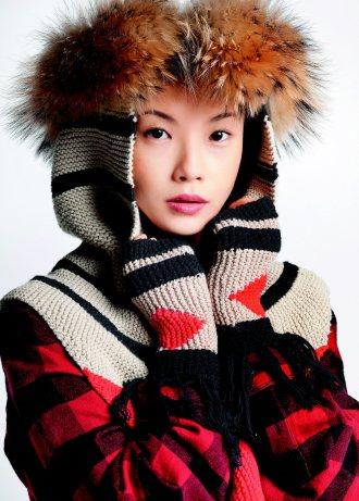 台灣女孩喬婉珊為青藏牧民「鍊金」,把犛牛毛化身為時尚織品,收益回饋牧區。 圖╱S...