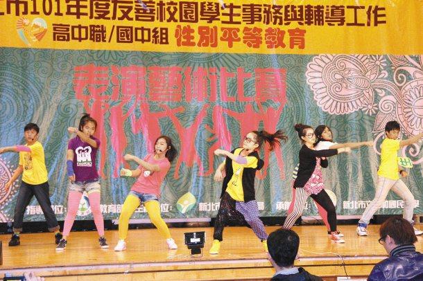 永和區福和國中以「國中生了沒!?」舞劇,蟬聯國中組特優獎。 記者孟祥傑╱攝影
