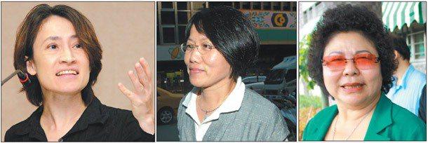聯合報願景工程討論「單身歧視」,民進黨立委蕭美琴(左)感同身受,笑稱老年蓋棟公寓...