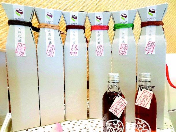 福釀坊的包裝設計走環保路線,曾拿下德國紅點設計大獎。 記者翁禎霞╱攝影
