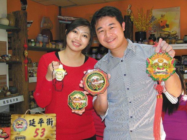 「安平陶坊」主人七年級的宋健誠,在台南發揚陶藝文化,並積極投入社區營造。 記者凌...