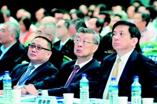 聯合報系舉辦「關鍵2013;為台灣經濟開路高峰會」上午在世貿國際會議中心舉行,馬...