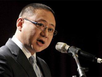 聯合報系願景工作室舉辦的「關鍵兩年-為台灣經濟開路」高峰會,上午在國泰金融會議廳...