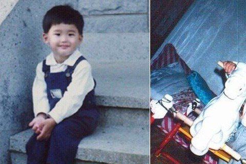 1989年9月14日出生,童年時期的李鍾碩萌萌的,看起來就屬與姐姐疼媽媽愛的小萌娃,難怪長大後吸了一堆姐姐粉。小鍾碩當時約莫2歲多。