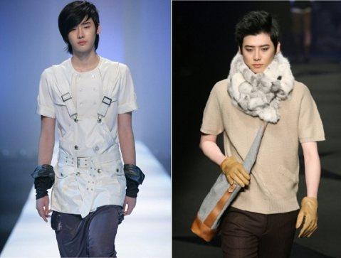 在以演員身分出道前,16歲的李鍾碩就登上「Seoul Collection」時裝舞台,是首爾時裝秀上最年輕的時裝男模,他還有「韓國模特兒界Muse」的美名。看他在T台上高冷的表情,和私下的鍾碩反差真...