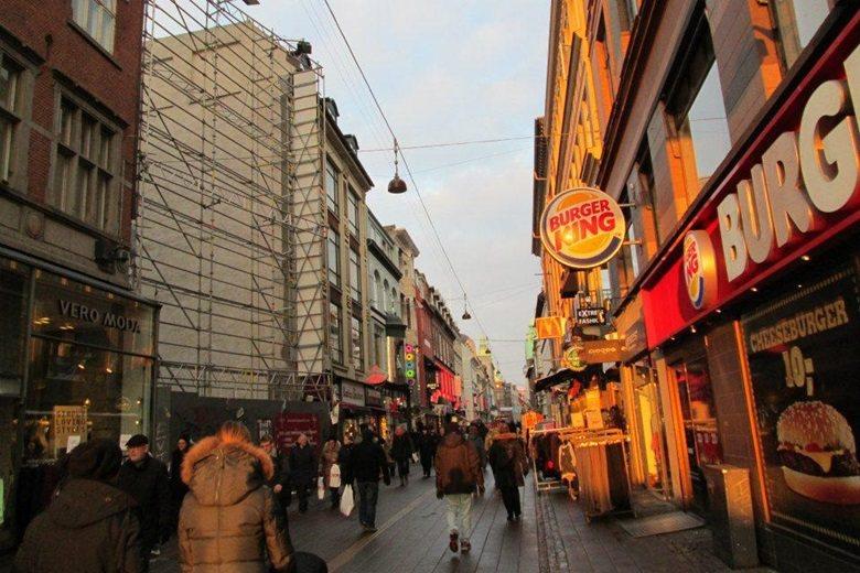 斯托勒徒步街現況(2013年2月)。 圖/邱秉瑜